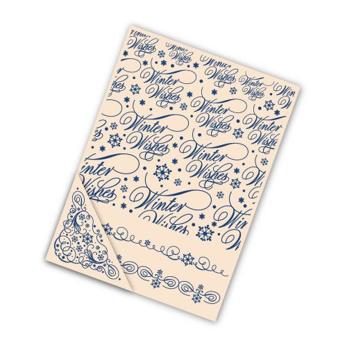 Tattered Lace Embossing Folder Set - Winter Wishes